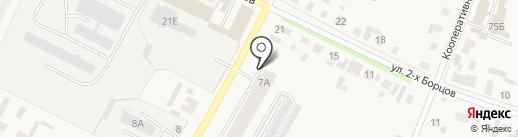 Джуманджи на карте Емельяново