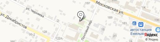 УФМС на карте Емельяново