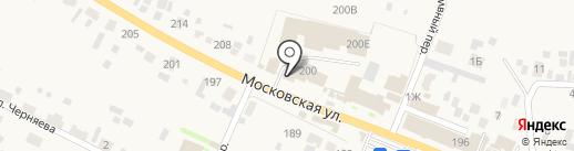 Колбасыч на карте Емельяново