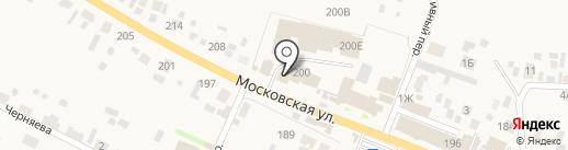 Киоск по ремонту обуви на карте Емельяново