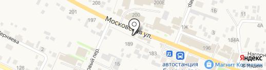 Емелина лавка на карте Емельяново