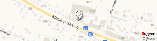 Сад-огород на карте Емельяново