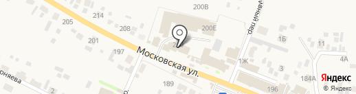 Светофор на карте Емельяново