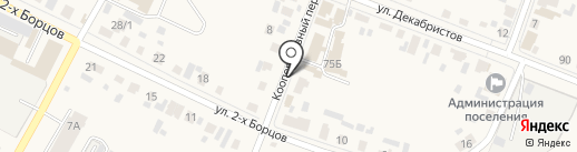 Геосервис на карте Емельяново
