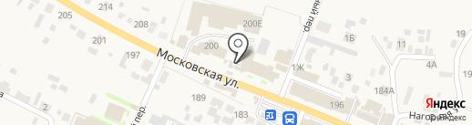 Абаканские полуфабрикаты на карте Емельяново