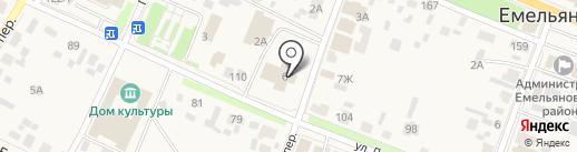 Ростехинвентаризация-Федеральное БТИ на карте Емельяново