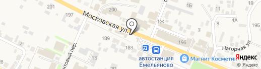 Экспресс на карте Емельяново