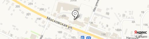 Емельяновский на карте Емельяново