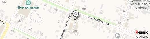 КИЛОВАТТ на карте Емельяново