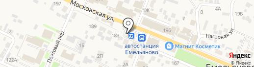 Чебуреки от Ивана на карте Емельяново