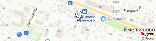 Диамакс на карте Емельяново