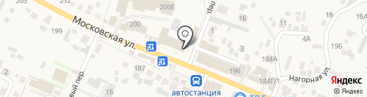 Киоск по продаже цветов на карте Емельяново