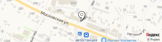 Киоск по продаже печатной продукции на карте Емельяново