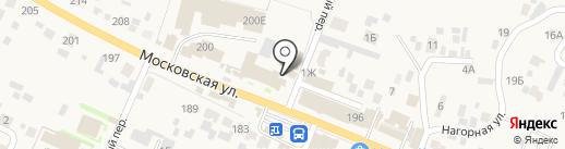 Мастер на карте Емельяново