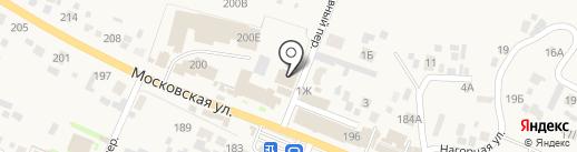 Лада деталь на карте Емельяново