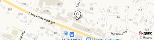 Магазин мебели на карте Емельяново