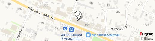 Exoral на карте Емельяново