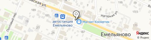 Шкатулка на карте Емельяново