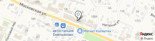 Эксперт+ на карте Емельяново