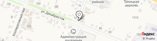 Велес на карте Емельяново