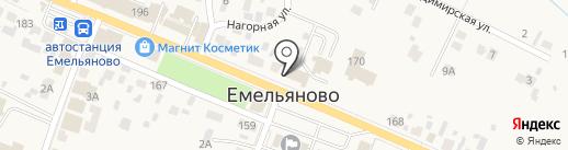 АВИКОМ на карте Емельяново