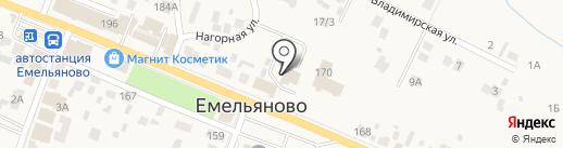 Красноярский Пункт регистрации транспортных средств на карте Емельяново