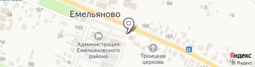 Жемчужина на карте Емельяново