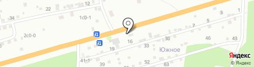 Магазин строительных материалов на карте Красноярска