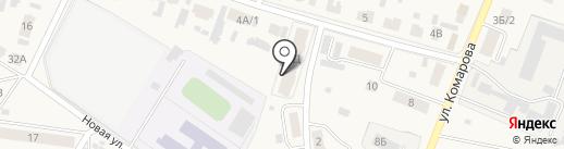 Домашний на карте Емельяново