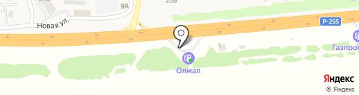 АЗС Formula на карте Емельяново