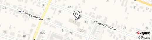 Управление образования Администрации пос. Емельяново на карте Емельяново