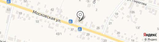 Гефест на карте Емельяново