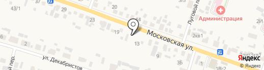 Продуктовый магазин на карте Емельяново