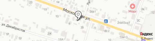 Ритуальные услуги на карте Емельяново