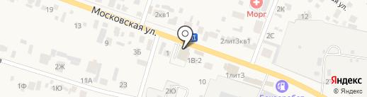 Московский на карте Емельяново