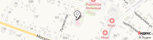 Емельяновская районная больница на карте Емельяново