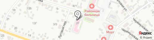 Скорая медицинская помощь на карте Емельяново