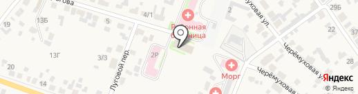 Отдел надзорной деятельности по Емельяновскому району на карте Емельяново
