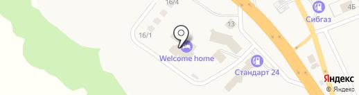 Загородная жизнь у Якима на карте Емельяново