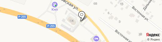 Гейзер на карте Емельяново