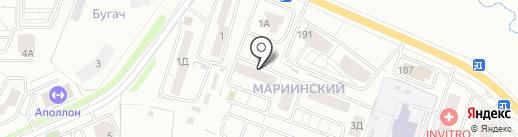 Торгово-ремонтная компания на карте Красноярска