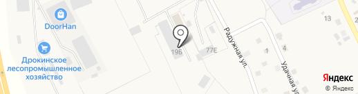 РИФ на карте Дрокино