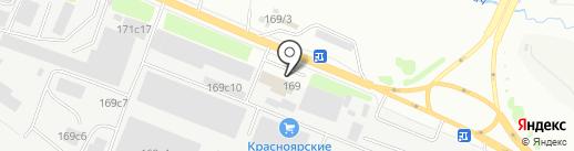 Эм-Си Баухеми на карте Красноярска