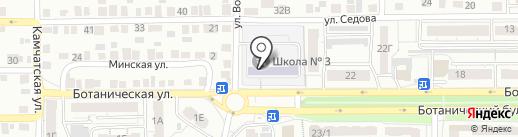 АВТЭКС+ на карте Красноярска