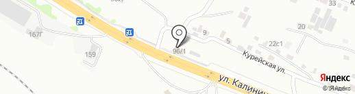 Арбалет+Лук на карте Красноярска