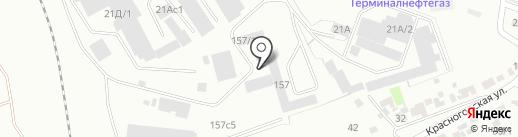 Комплектстрой на карте Красноярска
