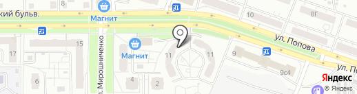 Альтернатива на карте Красноярска
