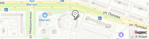 АВТОГЕН на карте Красноярска