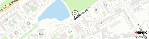 ХлЕба на карте Красноярска