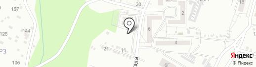 Аура на карте Красноярска